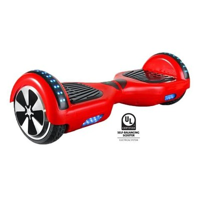 Gyrocopters L1 UL2272 certified Certified (Red) with Bluetooth Speaker  - Hoverboard or Self balance board