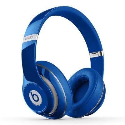 Beats by Dre Studio Wireless Over-Ear Headphone (Blue) - Refurbished (MHAJ2ZM/A)