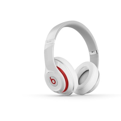 Beats by Dr. Dre - Beats Studio Over-the-Ear Headphones (White) - Refurbished  (BEATS-WIRED-WH)