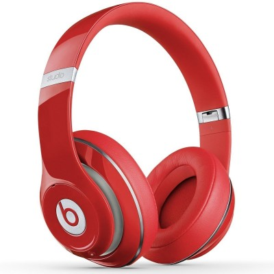 Beats by Dr. Dre - Beats Studio Over-the-Ear Headphones (Red) - Refurbished (WDMHAK2BA/R)