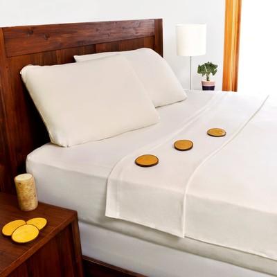 100% Organic Cotton Sheet Set - Queen Bed