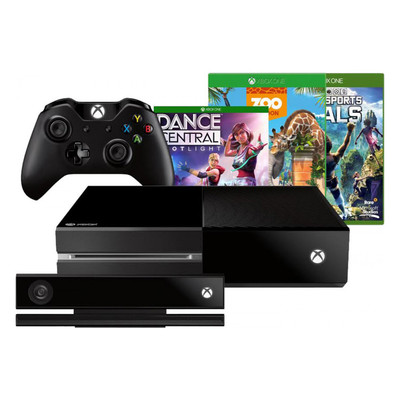 Microsoft Xbox One 500GB Console With Kinect Bundle, English (7UV-00163)