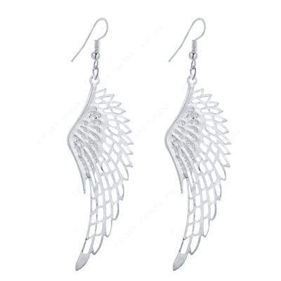 SILVER ANGEL WING FILIGREE EARRINGS SALE