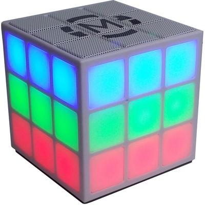 Mobi Cube Bluetooth Speaker with 360 Degree Light Show (MB-CUBE)