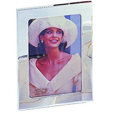 """Silver Plated 5x7"""" Photo Frame"""