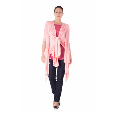 Bluberry Women's Kimono pink top