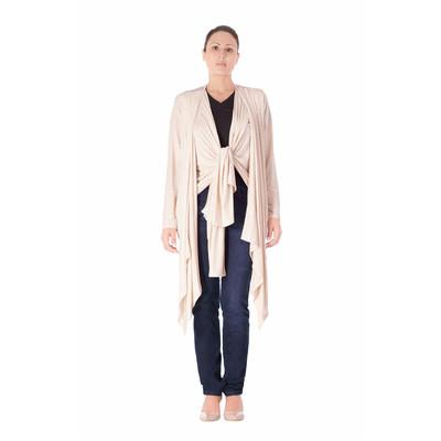 Bluberry Women's Kimono Oatmeal top
