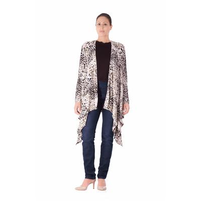 Bluberry Women's Kimono Animal Print top