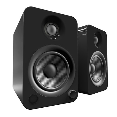 Kanto YU4 Powered Speakers with Bluetooth and Phono Preamp (YU4-SPEAKERS)