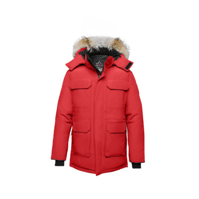 Nunavut Men's Jacket - Red