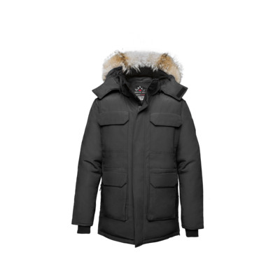 Nunavut Men's Jacket - Black