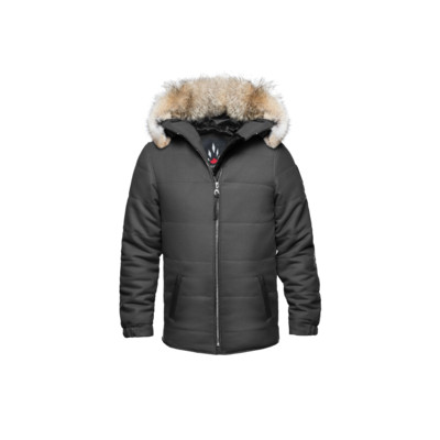Cambridge Men's Rayon Jacket - Charcoal