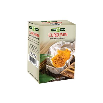 Curcumin Dietary Supplement Capsules