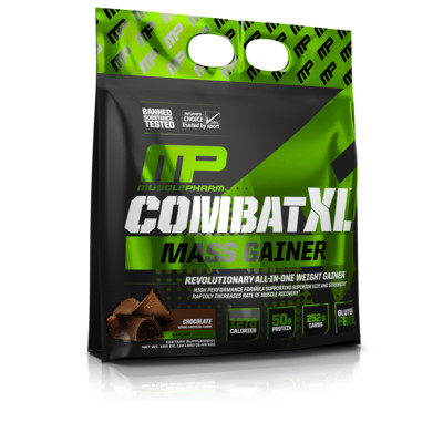Combat XL - Mass Gainer - Chocolate - 12 Lbs.