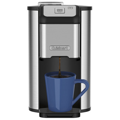 Cuisinart-Refurbished Single Cup Grind and Brew Coffeemaker, Manufacturer Recertified, English (DGB-1C)