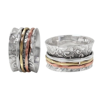 """""""INTO THE WOODS"""" MEDITATION RING"""