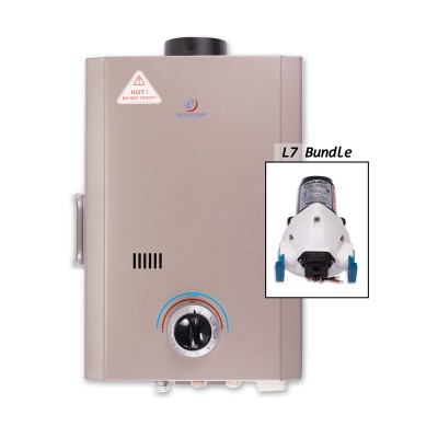 Eccotemp L7 Portable Outdoor Tankless Water & Flojet Pump