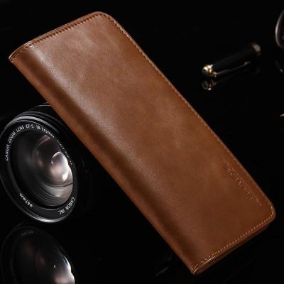 "MBD Floveme Unisex Genuine Leather 5.5""  iphone 7 plus Wallet (Brown)"