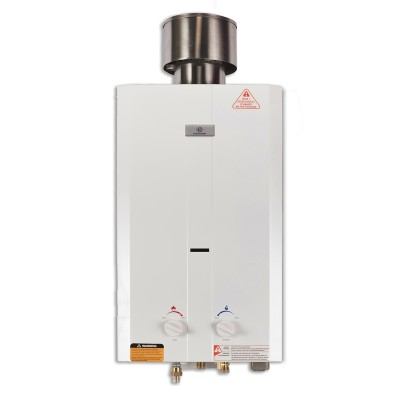 Eccotemp L10 Portable Outdoor Tankless Water Heater with Chrome Shower Set