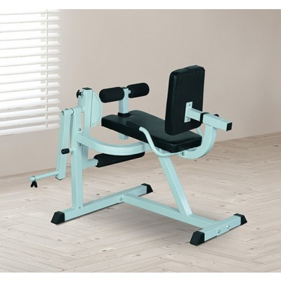 Soozier Seated Leg Extension and Curls Machine Leg Strength Bench Home Gym Fitness Workout Machine