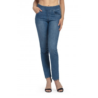Bluberry Women's Ellie Medium Base Straight leg denim