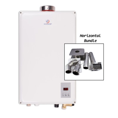 Eccotemp 45HI-NG Indoor Natural Gas Tankless Water Heater Horizontal Bundle