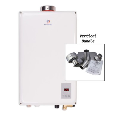 Eccotemp 45HI-LP Indoor Liquid Propane Tankless Water Heater Vertical Bundle