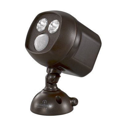 Battery Operated Motion Activated LED Dual Spotlight
