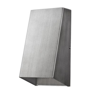 Nolan 1-Light Outdoor Wall Flush Mount