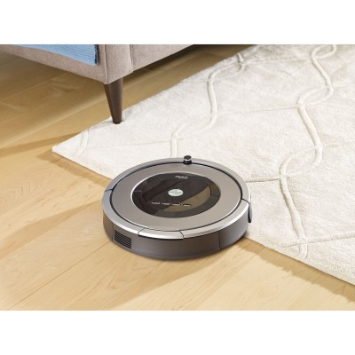 iRobot Roomba 860 Vacuum Cleaning Robot - Silver (REFURBISHED)