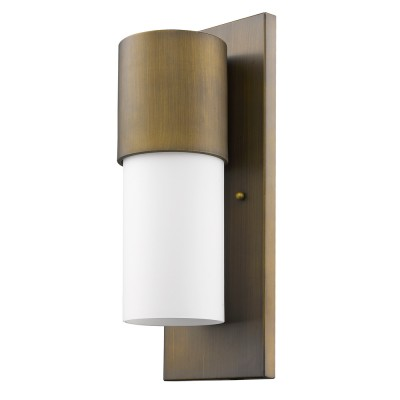 Cooper 1-Light Outdoor Wall Flush Mount