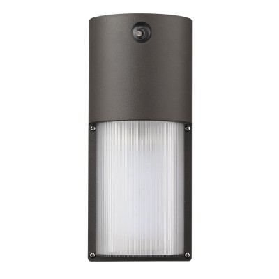LED Wall Sconce with Photocell and Dual Voltage