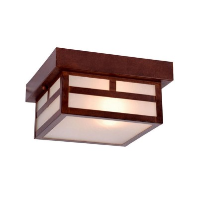 Artisan 1-Light Outdoor Ceiling Flushmount
