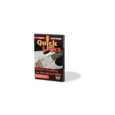Quick Licks - Melodic Shredding (DVD) - Mel Bay - 00393117