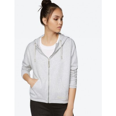 Soft Sweat Jacket In Grey