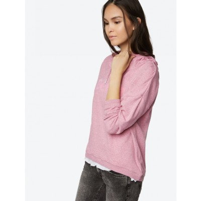 Loose Sweatshirt In Pink