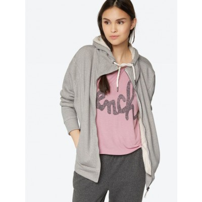 Sporty Sweatshirt In Grey