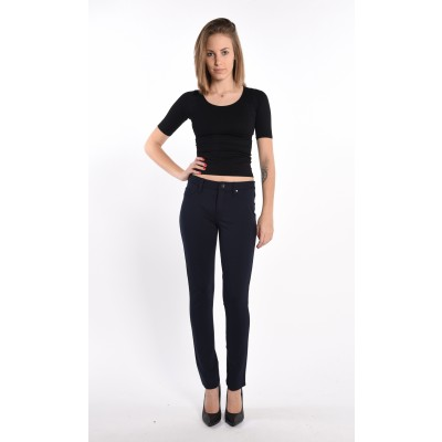 Stretch Jeggings In Navy