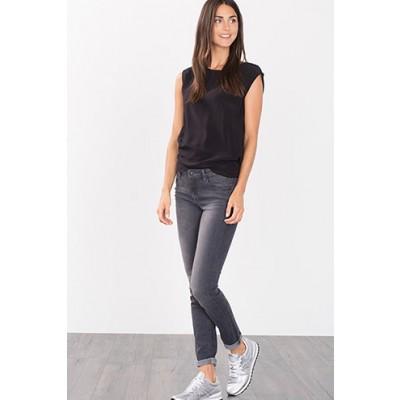 Stretch Jeans In Grey