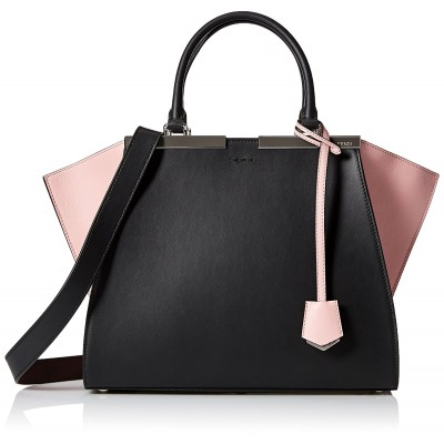 3 Jours Bag, Black and Pink