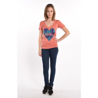Aloha V-Neck T-Shirt