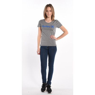 One And Only T-Shirt In Grey/Blue