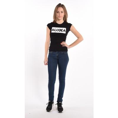 Aloha T-shirt In Black