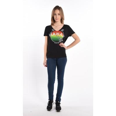 Legend Rising V-neck T-shirt