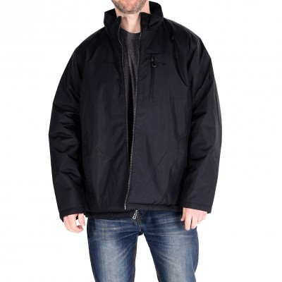 High Collar Reversible Black Waist Coat