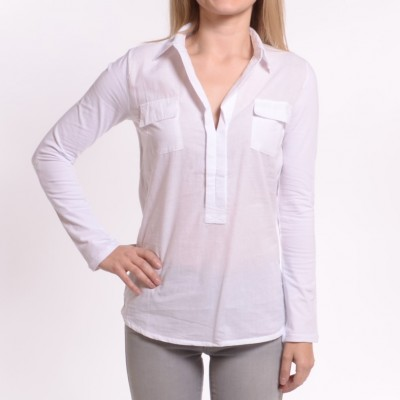 Ladies Short Sleeve V-Neck Shirt