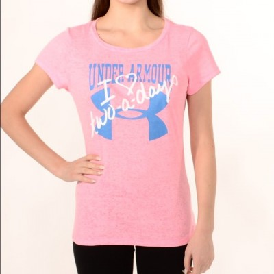 Women's T-shirt I Love Two-a-Day in Pink