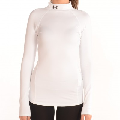 Women's ColdGear Infrared EVO Mock Top White