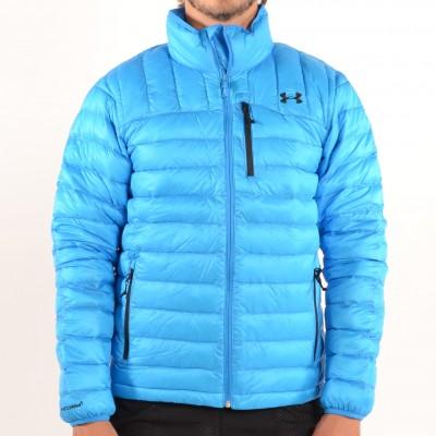 Men's Storm ColdGear Infrared Turing Jacket Blue Jet/Black