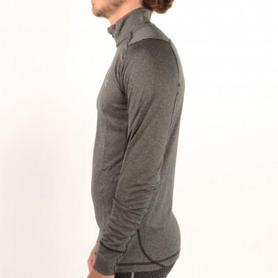Men's Charged Wool Trek 1/4 Zip Black